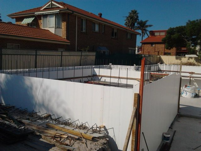 Nastasi associates prestons constructions Basement swimming pool construction